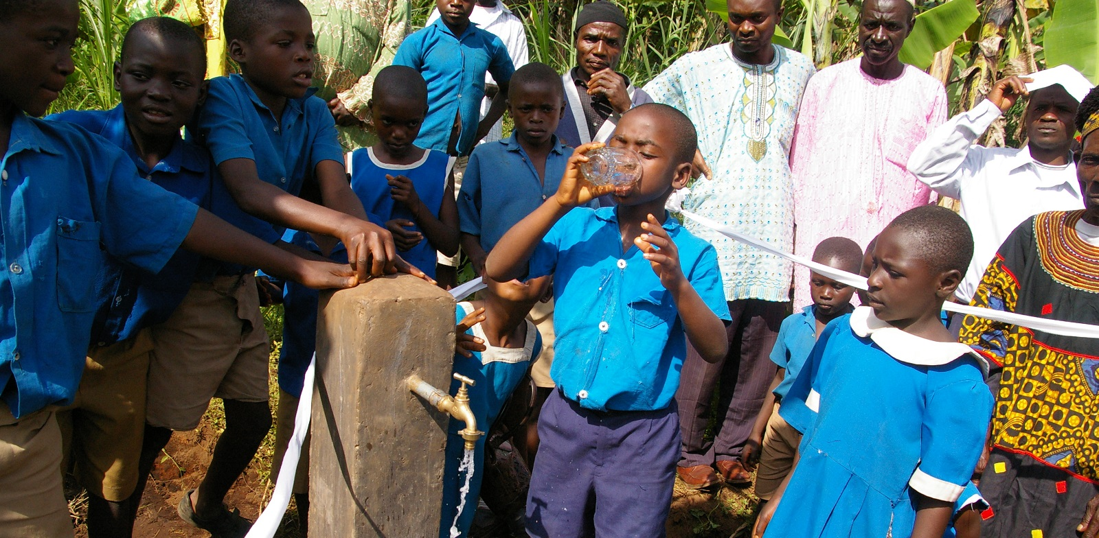 Improving Lives Building access to water