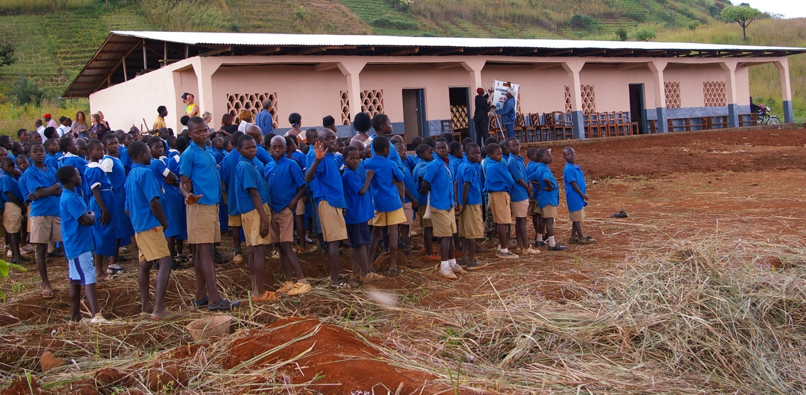 Improving Lives Building access to education