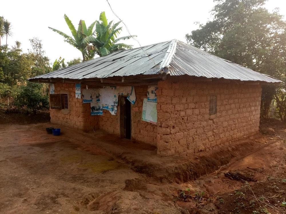 Centre de santé rurale typique