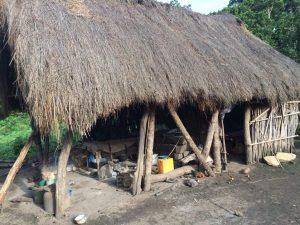 Cabane pour personnes déplacées