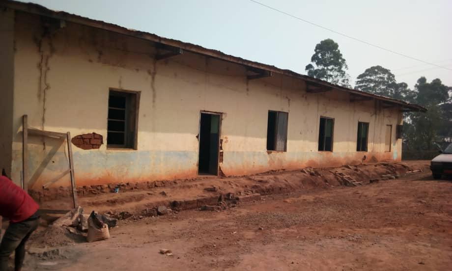 Charles Luanga church hall