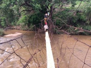 Fragile bridge to IDP community