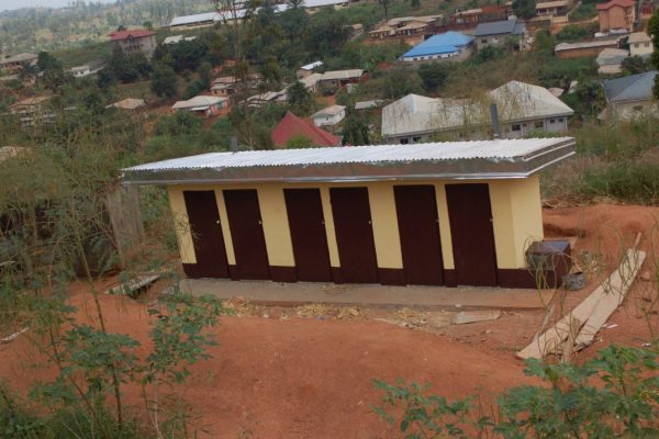 New latrine at St John school