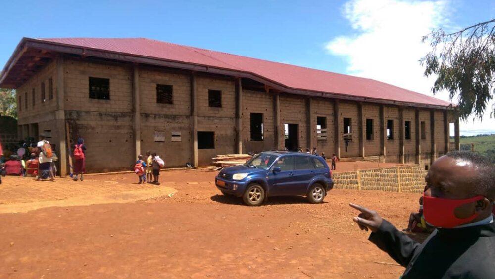New roof at Jakiri