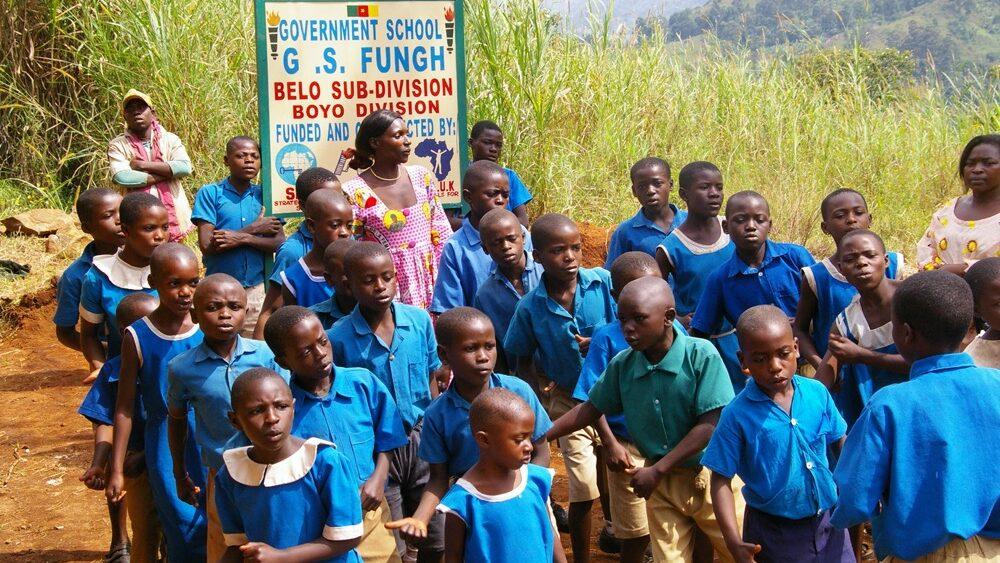 enfants à Fungeh