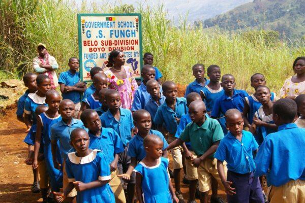 kids at Fungeh