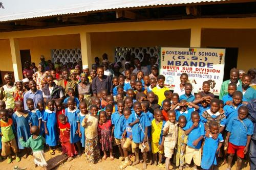 Mbande school after